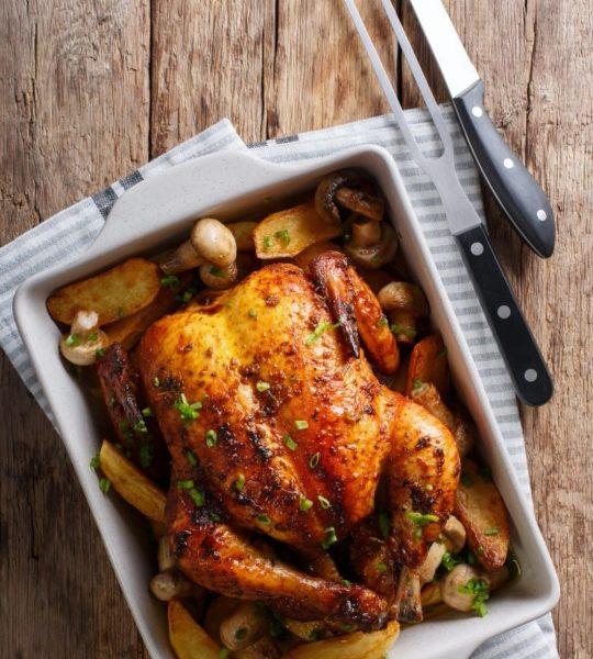 Enfes: Fırında Kızarmış Tavuk